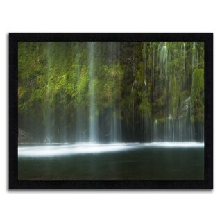 """""""Mossy Waterfall """" Framed Photograph Print in Acrylic Finish"""