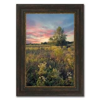 """Burning Dawn "" Framed Photograph Print in Acrylic Finish - 28 x 38"