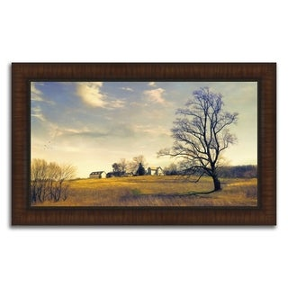 """Big Skies "" Framed Photograph Print in Acrylic Finish"