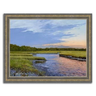 """In The Marsh "" Framed Painting Print in Acrylic Finish"