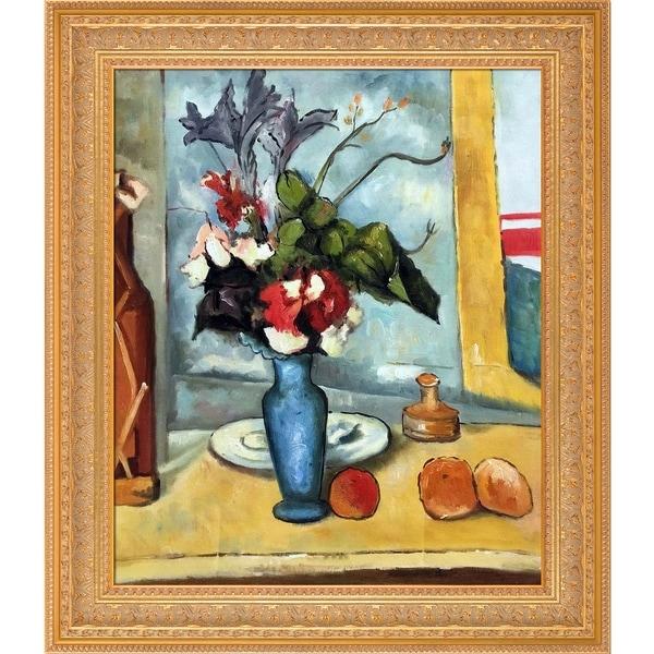Shop Paul Cezanne Le Vase Bleu Hand Painted Oil Reproduction
