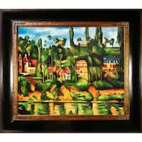 Paul Cezanne 'The Chateau at Medan' Hand Painted Oil Reproduction