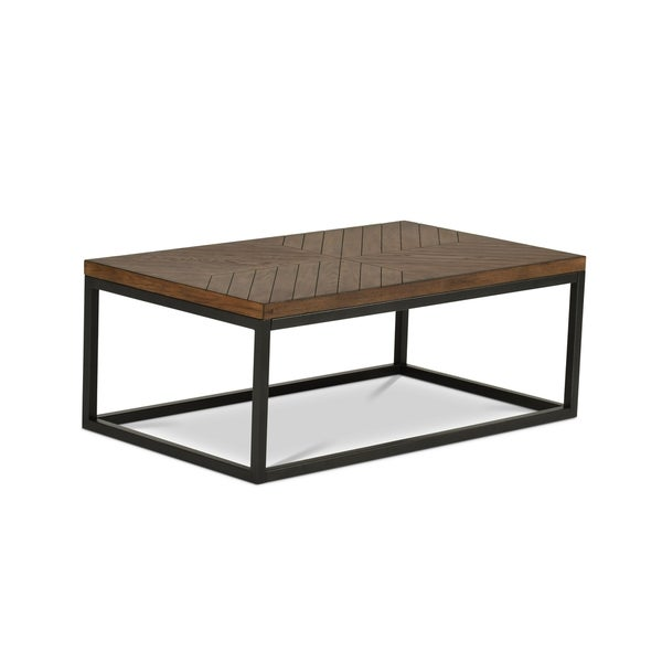 Greyson Living Arista Wood and Metal Coffee Table