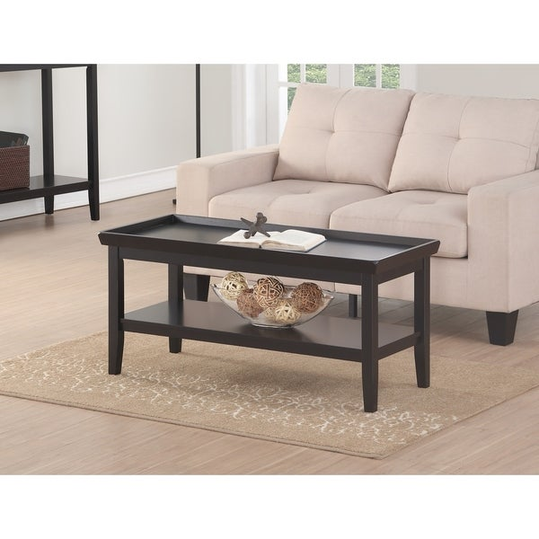 Convenience Concepts Ledgewood Coffee Table