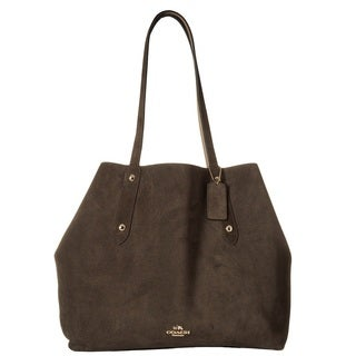 Coach Large Market Chesnut Stone Tote Bag