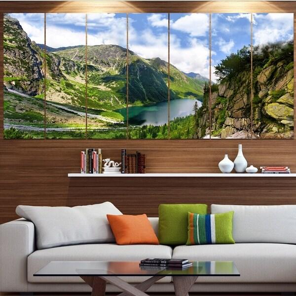 Designart 'Incredible View of Tatra Mountains' Landscape Wall Artwork