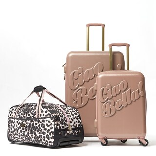 Macbeth Ciao Bella 3-piece hardside Spinner Luggage Set