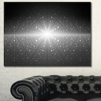 Designart 'Stardust and Bright Shining Stars'Extra Large Abstract Canvas Art Print