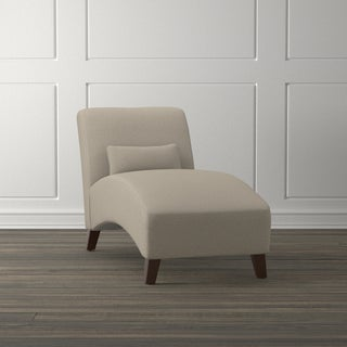 Handy Living Colbran Taupe Linen Chase Lounge