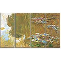 Design Art 'Claude Monet - The Water Lily Pond' Canvas Art Print