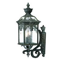 Acclaim Lighting Belmont Collection Wall-Mount 3-Light Outdoor Black Coral Light Fixture