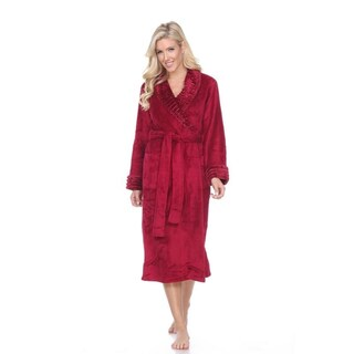 White Mark Super Soft Lounge Robe (More options available)