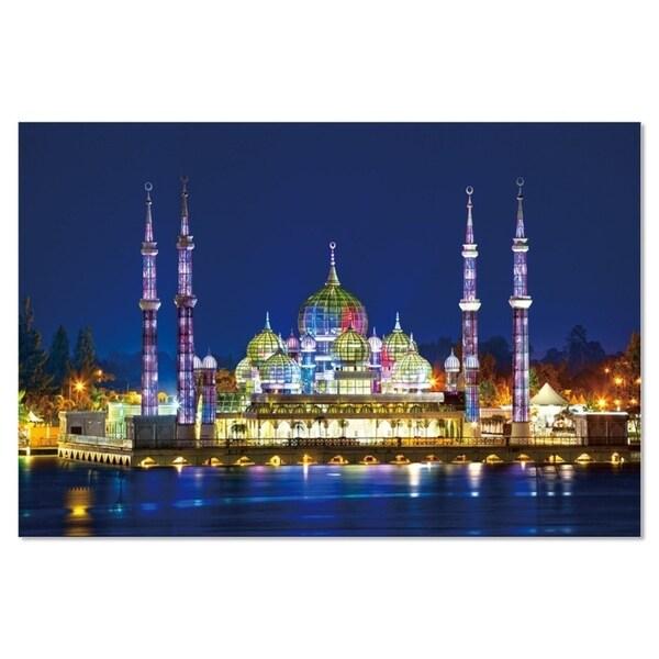 shop epic graffiti crystal mosque high gloss acrylic wall art 48