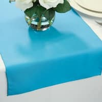 Polyester Table Runners 14 x 72 Turquoise