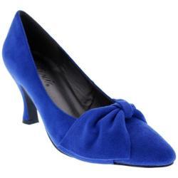 Women's Bellini Charm Pump Royal Blue Microsuede