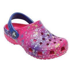 Children's Crocs Classic Graphic Clog Kids Multi Stars