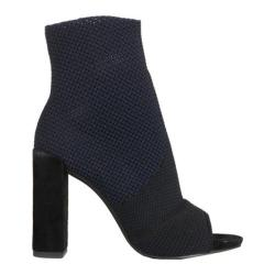 Women's Kenneth Cole New York Dahvi Bootie Navy/Black Knit - Thumbnail 0