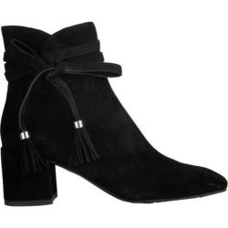 Women's Kenneth Cole New York Estella Bootie Black Suede - Thumbnail 0