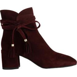 Women's Kenneth Cole New York Estella Bootie Oxblood Suede - Thumbnail 0