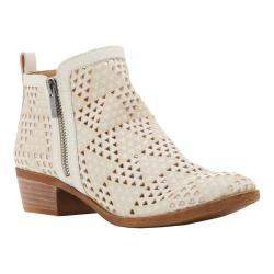 Women's Lucky Brand Basel Bootie Sandshell Perforated Leather