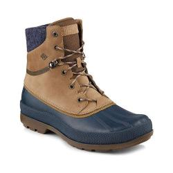Men's Sperry Top-Sider Cold Bay Sport Duck Boot with Vibram Arctic Grip Taupe Leather