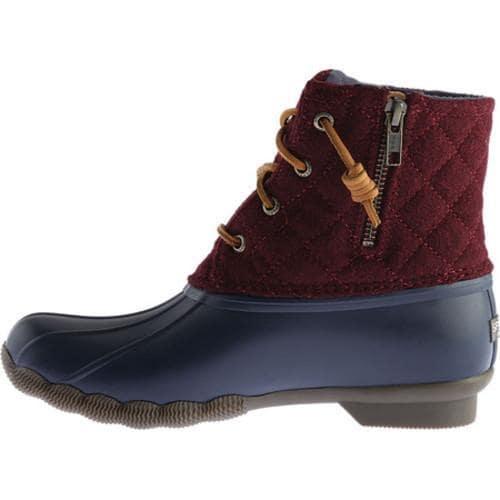 Shop Women S Sperry Top Sider Saltwater Duck Boot Navy