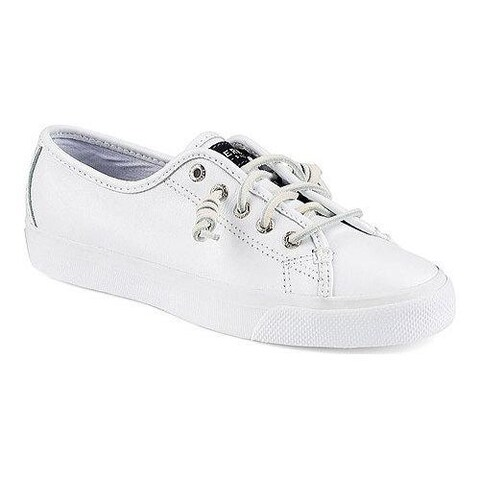 Women's Sperry Top-Sider Seacoast Leather White Leather