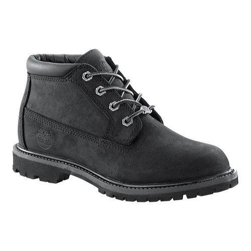 796383a788e4 Shop Women s Timberland Classic Nellie Black Nubuck Leather - Free ...