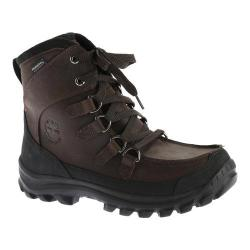 Men's Timberland Earthkeepers Chillberg Tall Insulated Waterp Brown Leather
