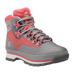 Women's Timberland Euro Hiker Jacquard Hiking Boot Medium Grey Jacquard