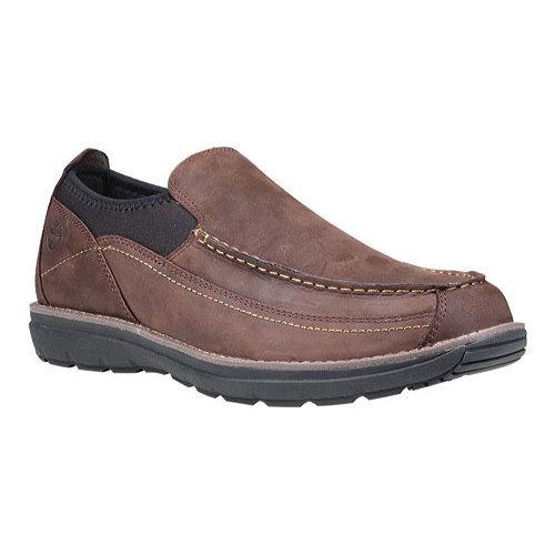 0185150eef13 Shop Men s Timberland Barrett Park Slip-On Dark Brown Leather - Free  Shipping Today - Overstock - 17621236