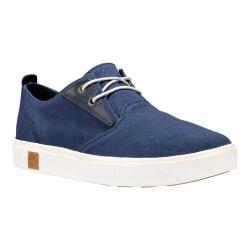 Men's Timberland Amherst Plain Toe Oxford Navy Canvas