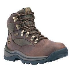 Men's Timberland Chocorua Trail Waterproof Hiking Boot Brown w/ Green