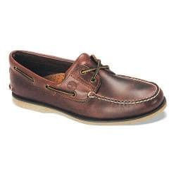 Productos lácteos habilitar orientación  Men's Timberland Classic Boat 2-Eye Rootbeer Smooth Leather - Overstock -  17621257
