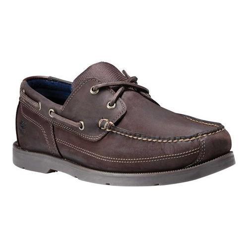 3db59b716b Shop Men's Timberland Piper Cove Boat Shoe Dark Brown Nubuck - Free ...