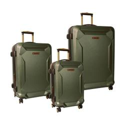 Timberland Fort Stark 3 Piece Luggage Set Forest Night
