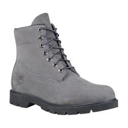 Men's Timberland Icon 6in Basic Waterproof Boot Grey Nubuck