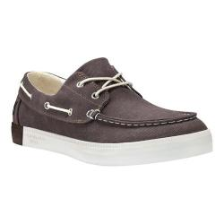 Men's Timberland Newport Bay 2-Eye Boat Shoe Olive Canvas