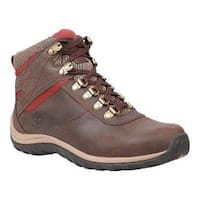 Women's Timberland Norwood Mid Waterproof Dark Brown Leather