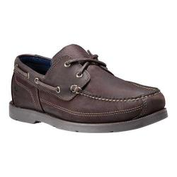 Men's Timberland Piper Cove Boat Shoe Dark Brown Nubuck