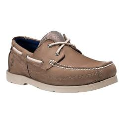 Men's Timberland Piper Cove Boat Shoe Light Brown Nubuck