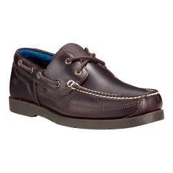 Men's Timberland Piper Cove Boat Shoe Medium Brown Full Grain Leather