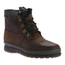 Men's Timberland Schazzberg Mid Waterproof Insulated Boot Dark Brown Full Grain Leather