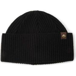 Men's A Kurtz Leather Tab Shorman Watchcap Black