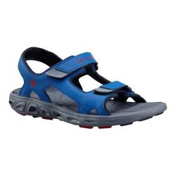 Children's Columbia Techsun Vent Sandal Youth Stormy Blue/Mountain Red