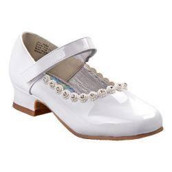Girls' Josmo O-20511M Mary Jane White Patent|https://ak1.ostkcdn.com/images/products/198/401/P23847867.jpg?impolicy=medium