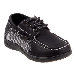 Boys' Josmo O-72201B Boat Shoe Black
