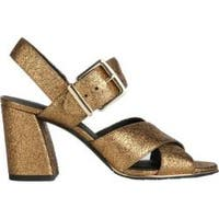 Women's Kenneth Cole New York Lauralynn Strappy Sandal Gold Leather