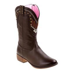 Girls' Nanette Lepore NL20367B Studded Cowgirl Boot Black
