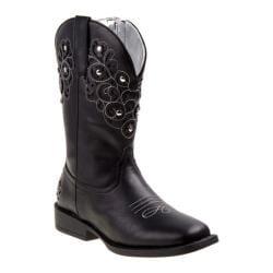 Girls' Nanette Lepore NL20383B Square Toe Cowgirl Boot Black